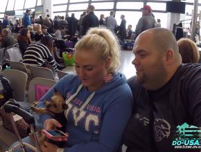 Na letišti v Berlíně :)
