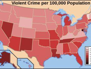 mapa kriminality
