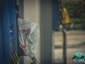Když byl na tankovací pistoli sáček, tak to znamenalo, že není benzín :-(