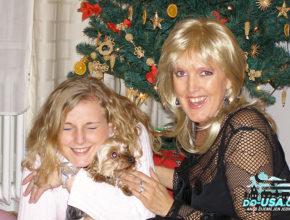 Navzdory všemu trápení jsme si ty Vánoce užívaly jako by byly poslední :-) (Bohužel byly předposlední :-( )