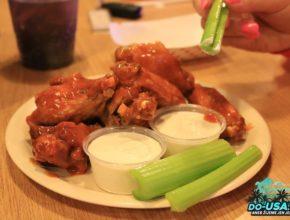 Buffalo Wings někde v Jižní Karolíně :)