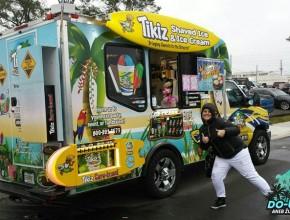 Tohle byl sraz Food Tracků v Jacksonville, počasí moc nevyšlo, ale byl to super zážitek :-)