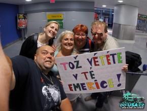 Vítání na letišti :-)